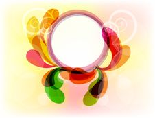 Free Colorful Frame For You Design Royalty Free Stock Photos - 16755598