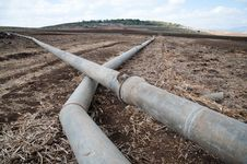 Free Israeli Irrigation Pipes Stock Photo - 16756030