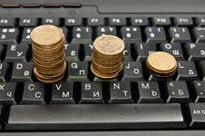 Free Stacks Of Coins Royalty Free Stock Images - 16756239