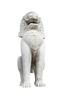 Free Lion Stone Stock Photography - 16756452
