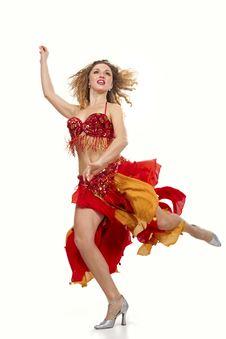 Free Gipsy Dancer Stock Photo - 16756630