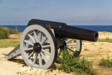 Free The Old Cannon Royalty Free Stock Image - 16756656