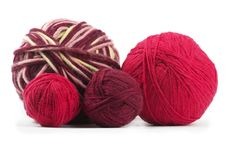 Free Four Colored Wool Clews Stock Image - 16757081