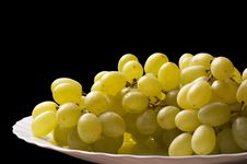 Free Grape Bunch Fragment Royalty Free Stock Image - 16757216