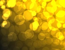Free Abstract Yellow Color Square Bokeh Background Royalty Free Stock Photos - 16758078