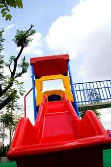 Free Small Children Playground Stock Photos - 16758143