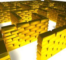 Free Gold Maze Stock Photo - 16758470