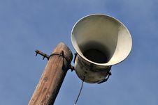 Old Loudspeaker Stock Image