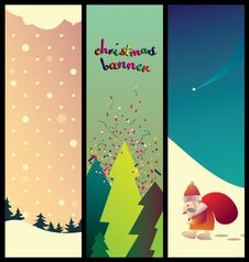 Free Collection Of Christmas Banner Royalty Free Stock Photos - 16758768