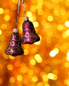 Free Christmas Bells Royalty Free Stock Photo - 16758905