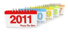 Free Simple Style Calendar Series Royalty Free Stock Photo - 16759025