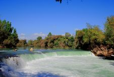 Stunning Waterfall Manavgat Turkey Royalty Free Stock Photos
