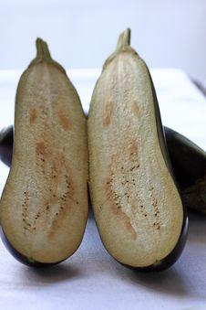 Free Eggplant Details Stock Image - 16759421