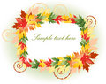 Free Beautiful Multicoloured Floral Frame Stock Photos - 16760433