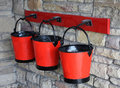 Free Fire Buckets Royalty Free Stock Images - 16761019
