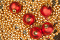 Free Red Christmas Balls Royalty Free Stock Image - 16761476