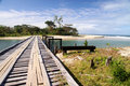 Free Wooden Bridge On The Coast Royalty Free Stock Photos - 16768418