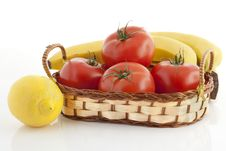 Free Ripe Fruits And Vegetables Royalty Free Stock Photo - 16760055