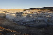 Free Sol De Manana Geysers Stock Photos - 16760553