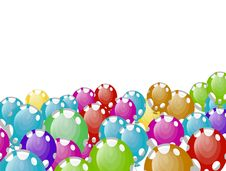 Free Coloured Balloons Royalty Free Stock Photography - 16760567