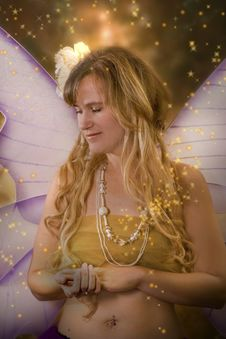 Free Sexy Fairy Royalty Free Stock Photos - 16760608