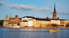 Stockholm Old City Center Stock Photos