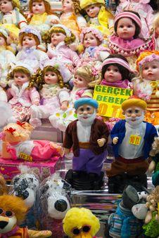 Free Sale Dolls Royalty Free Stock Image - 16761256