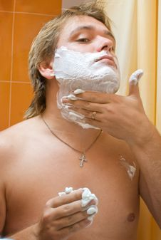 Free Man Shaving Stock Photos - 16762333