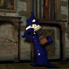 Free Bad Magician S Apprentice Stock Image - 16762431