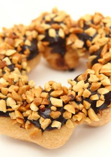 Free Chocolate Covered Donut Stock Image - 16762911