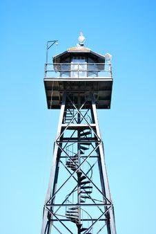 Free Alcatraz Turret And Blue Sky Stock Photos - 16763603