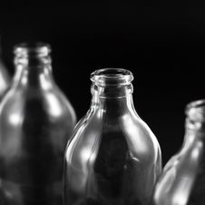 Free Empty Bottles Royalty Free Stock Images - 16764439