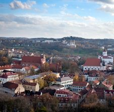 Free Vilnius Old Town Cityscape Royalty Free Stock Images - 16764519