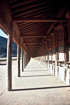 Free Prayer Wheels, China Stock Photography - 16764672
