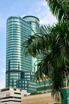 Free Business Centre, Bangkok, Thailand Stock Image - 16764921