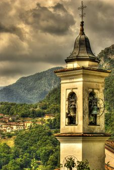 Free Old Bell Tower Royalty Free Stock Photo - 16765315