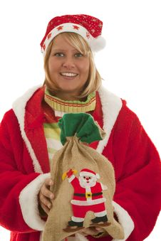 Free Chrismas Girl Royalty Free Stock Image - 16765316