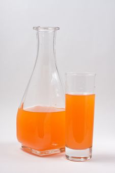 Free Decanter With Juice Stock Photos - 16765493