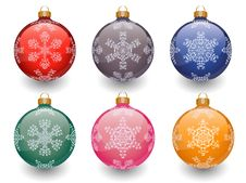 Free Christmas Baubles Stock Images - 16765504