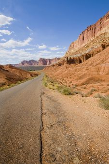 Free Capitol Reef Stock Photography - 16765712