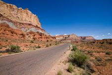 Free Capitol Reef Royalty Free Stock Photography - 16765727