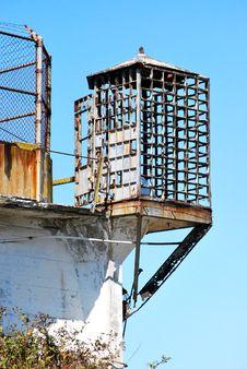 Alcatraz Cage Royalty Free Stock Photo