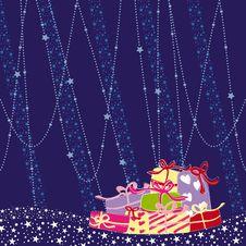 Free Christmas Greeting Card Stock Photography - 16767022