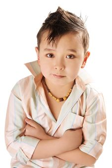 Free Cute Boy Royalty Free Stock Photos - 16767268