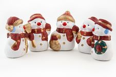 Free Snowman Figurine Stock Photography - 16768072