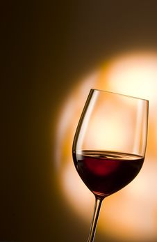 Free Glass Of Red Wine Royalty Free Stock Photos - 16768098