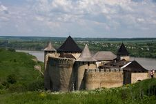Free Entrance View Of The Khotyn Fortress. Khotyn Royalty Free Stock Image - 16768146