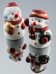 Free Snowman Figurine Stock Image - 16768331