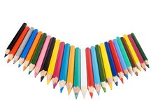 Free A Lot Of Color Pencils Stock Photo - 16768420