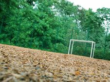 Free Soccer Goal Royalty Free Stock Images - 16768749